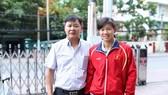 Thầy trò Ánh Viên vẫn tập tại Mỹ và không về ăn tết tại Việt Nam đầu năm mới 2018. Ảnh: NGỌC HẢI