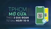 TPHCM mở cửa theo 3 giai đoạn từ sau ngày 15-9