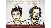 Giải Nobel Văn học 2018 và 2019 đã có chủ