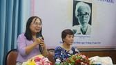 Nhiều nghệ sĩ xúc động trong buổi ra mắt sách về NSƯT Nguyễn Ngọc Bạch