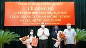Hợp nhất hai NXB Tổng hợp TPHCM và Văn hóa - Văn nghệ TPHCM