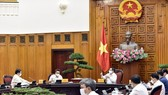 Prime Minister Pham Minh Chinh chaired the meeting with the Ministry of Science and Technology yesterday (Photo: SGGP)