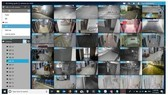 Smart VMS system using AI to warn aaginst a large gathering