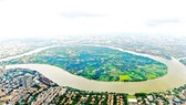 Binh Quoi – Thanh Da urban area project with a surface area of 426ha has been suspended for 28 years. (Photo: SGGP)
