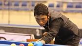 Cơ thủ Ngô Đình Nại vô địch billiard carom 1 băng châu Á . ẢNH: NHẬT ANH