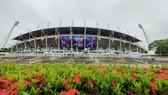 Sân vận động Thammasat nơi tổ chức trận Thái Lan - Việt Nam vào ngày 5-9. Ảnh: Dũng Phương