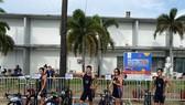 VĐV Malaysia thi đấu gian lận, đội Việt Nam khiếu kiện thành công - Nội dung đồng đội ba môn phối hợp SEA Games 30. Ảnh: Nhật Anh
