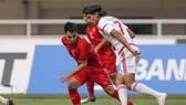 Việt Nam trong cuộc so tài cùng UAE tại Asiad 18. Ảnh: Hà Phương