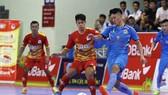 Đội Tân Hiệp Hưng trong cuộc so tài với Kardiachain Sài Gòn FC ở giải futsal VĐQG 2019. Ảnh: Anh Trần