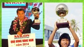 Thành Lương và Kim Chi, hai cầu thủ 4 lần giành danh hiệu Quả bóng vàng