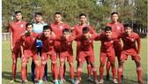 Đội U19 Bình Định. Ảnh: MINH TRẦN
