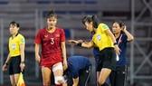 Chương Thị Kiều trong trận tranh chung kết SEA Games 2019. Ảnh: VFF