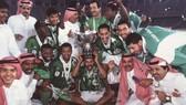 Saudi Arabia 3 lần vô địch Asian Cup. Ảnh: AFC