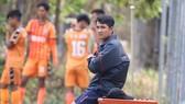 Cựu tuyển thủ Huỳnh Quốc Anh. Ảnh: VIẾT ĐỊNH