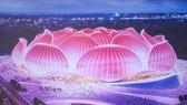 Mô hình sân vận động Quảng Châu Evergrande