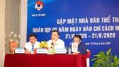 Ông Cao Văn Chóng đánh giá  cao sự đồng hành của giới truyền thông với VFF.
