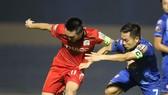 Quảng Nam hiện đang đứng cuối BXH V-League 2020. Ảnh: VIẾT ĐỊNH