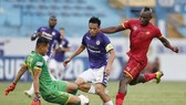 Văn Quyết giành lại 1 điểm cho CLB Hà Nội. Ảnh: MINH HOÀNG