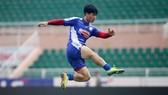 Công Phượng lại lỡ hẹn ở cuộc so tài với Hà Nội FC tới đây. Ảnh: HCMCFC