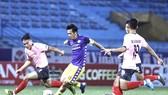 Văn Quyết ghi bàn thắng duy nhất của trận đấu. Ảnh: MINH HOÀNG