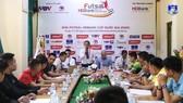 Buổi họp kỹ thuật giữa các đội vào ngày 21-11
