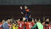 Thầy trò HLV Thạch Bảo Khanh đăng quang ở VCK U21 2020
