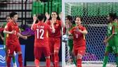 Thi đấu nhiều sẽ giúp các cầu thủ nữ futsal Việt Nam có nhiều cơ hội để nâng cao