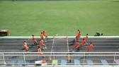 Buổi tập khai Xuân của Topenland Bình Định trên sân Quy Nhơn ngày mùng 6