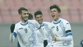 U23 Uzbekistan vô địch châu Á năm 2018. Ảnh: AFP