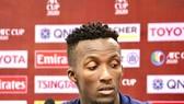 Diakite gia nhập Sài Gòn FC. Ảnh: FBNV