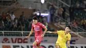 Đỗ Merlo ghi cả 3 bàn thắng cho Sài Gòn FC từ đầu giải đến nay. Ảnh: ANH KHOA