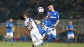 Hà Nội FC kết thúc chuỗi hạn bằng chiến thắng 4-0. Ảnh: MINH HOÀNG