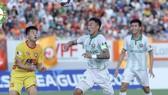 Trung vệ Ahn Byung Keon cùng hàng thủ Bình Định sẽ có trận đấu vất vả ở vòng 11