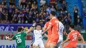 Trận thua Topenland Bình Định đã đẩy Hà Nội FC xa dần tốp 6. Ảnh: HN