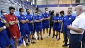 Lãnh đạo LĐBĐ Lebanon trong 1 lần đến thăm đội nhà