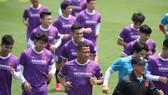 Đội tuyển Việt Nam còn 2 tuần chuẩn bị trong nước. Ảnh: MINH HOÀNG
