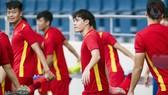 Văn Toàn hồi phục tốt để sẵn sàng ra sân ở trận gặp Malaysia. Ảnh: Đoàn Nhật