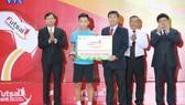 Văn Hiếu đang có bước tiến nhanh trong làng Futsal Việt Nam. Ảnh: THANH ĐÌNH