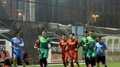 Đội tuyển Việt Nam đã hội đủ 3 thủ môn tại Saudi Arabia sau khi có sự xuất hiện của Văn Lâm