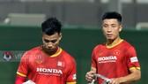 Văn Thanh và Tiến Dũng, hai trụ cột ở hàng thủ đội tuyển Việt Nam