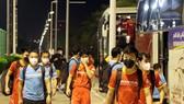Sau hai buổi tập đầu tiên tại Muscat, đội tuyển Việt Nam đổi sân tập phụ từ tối 10-10 sau chấn thương của Ngọc Hải