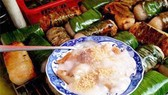 Excellent combination of banana and sticky rice