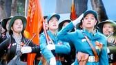 Diễu binh, diễu hành kỷ niệm 40 năm Ngày giải phóng hoàn toàn miền Nam, thống nhất đất nước