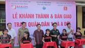 Báo SGGP khánh thành Trạm quân dân y xã A Đớt