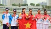 Việt Nam lập kỷ lục đua thuyền Rowing