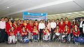 Nồng nhiệt chào đón đoàn thể thao Người khuyết tật Việt Nam trở về