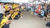Đội tuyển Futsal Việt Nam được chào đón nồng nhiệt