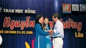 Báo SGGP sẽ tổ chức lễ trao Học bổng Nguyễn Văn Hưởng lần VII