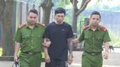 Đối tượng Học bị công an bắt giữ