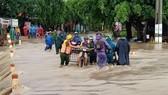 Mưa lớn ở Đắk Lắk, nhiều địa phương bị nhấn chìm trong nước